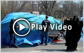Drunk Driving Mock Accident